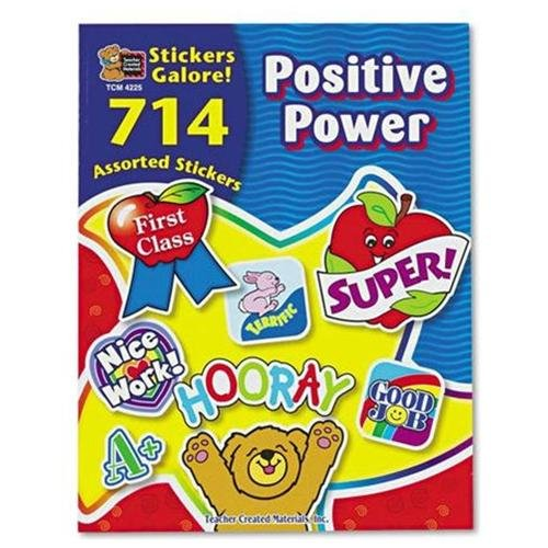 Teacher Created Resources Positive Power Sticker Book - Assorted (4225)