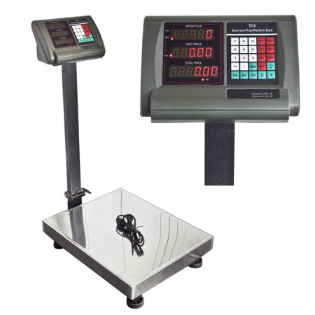 Apontus 600 LB Pounds Platform Bench Shipping Weight Computing Counting Scales