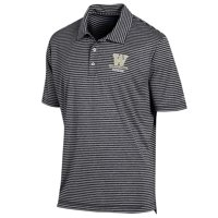 Men's University of Washington Polo Striped Staduim Stripe Polo