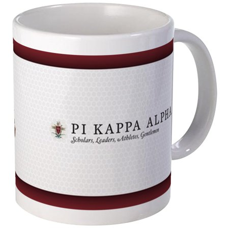 Kappa Alpha Letter (CafePress - Pi Kappa Alpha Letters Mug - Unique Coffee Mug, Coffee Cup)