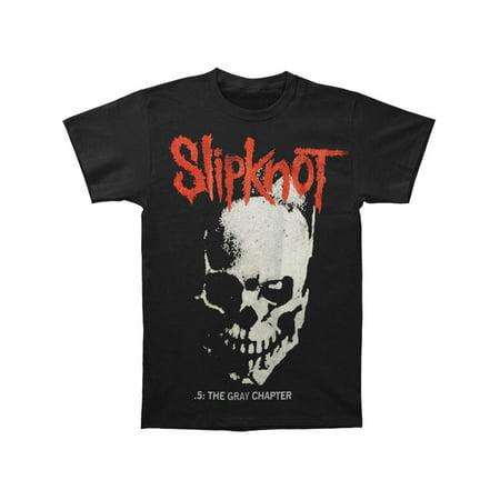 Slipknot Men's  Skull And Tribal T-shirt Black
