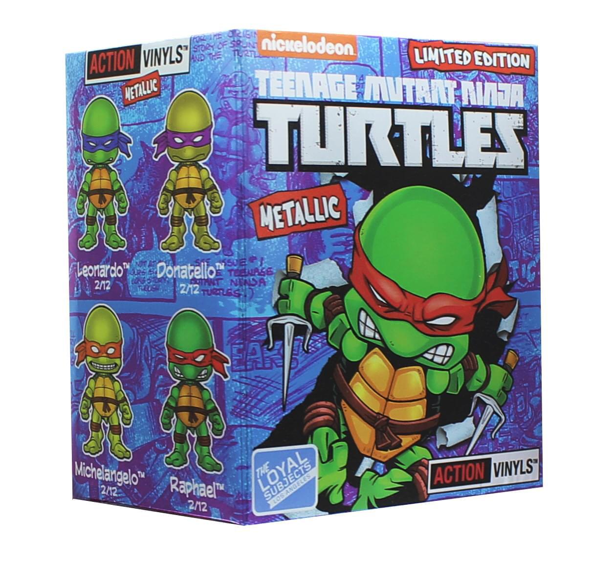 Loyal Subjects Teenage Mutant Ninja Turtles Wave 2 Blind Box One Random Figure