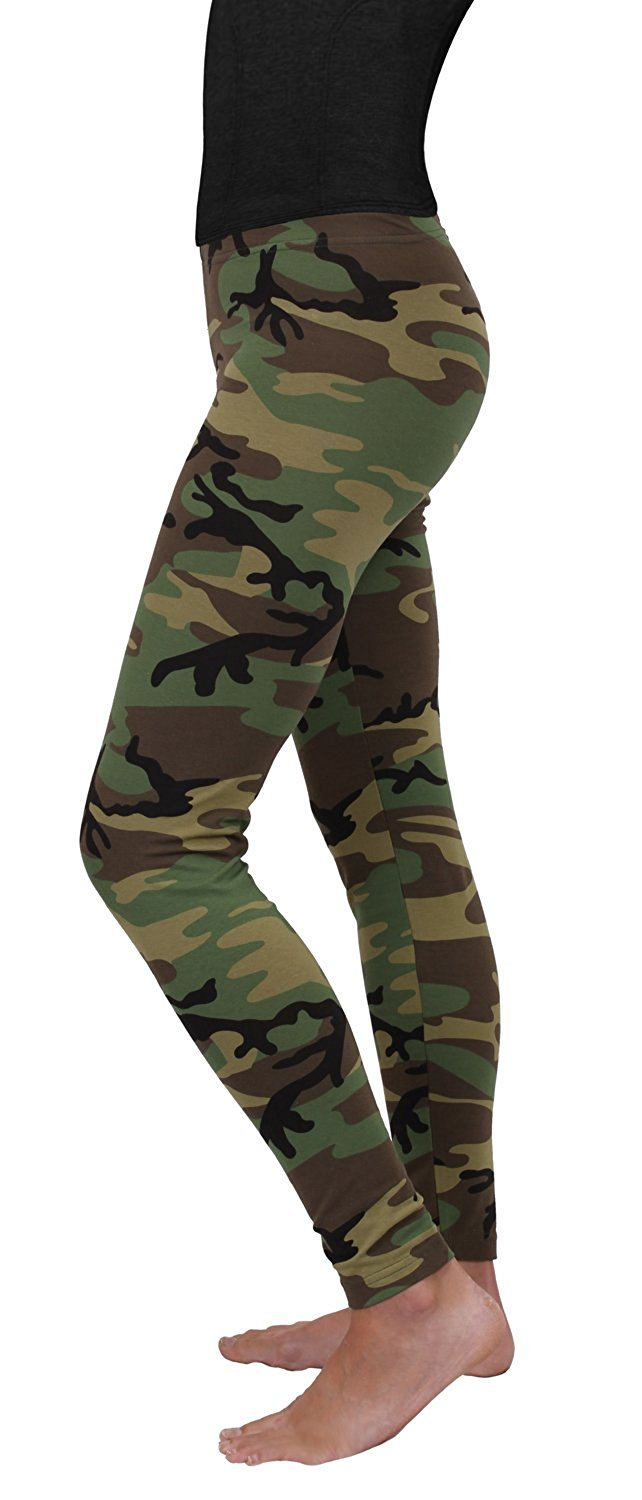 16217b81928b9a Rothco Womens Woodland Camo Leggings - X-Large - image 1 of 1 zoomed image