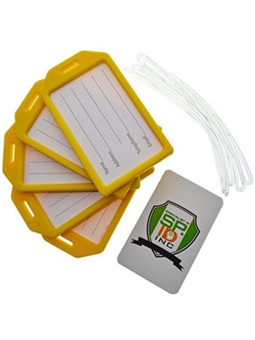 130f9d130216 Yellow Luggage Tags - Walmart.com