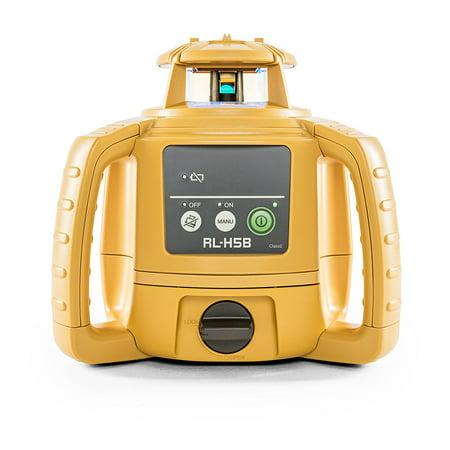 Topcon Laser Level - Topcon 1021200-31 RL-H5B Self Leveling Horizontal Rotary Laser