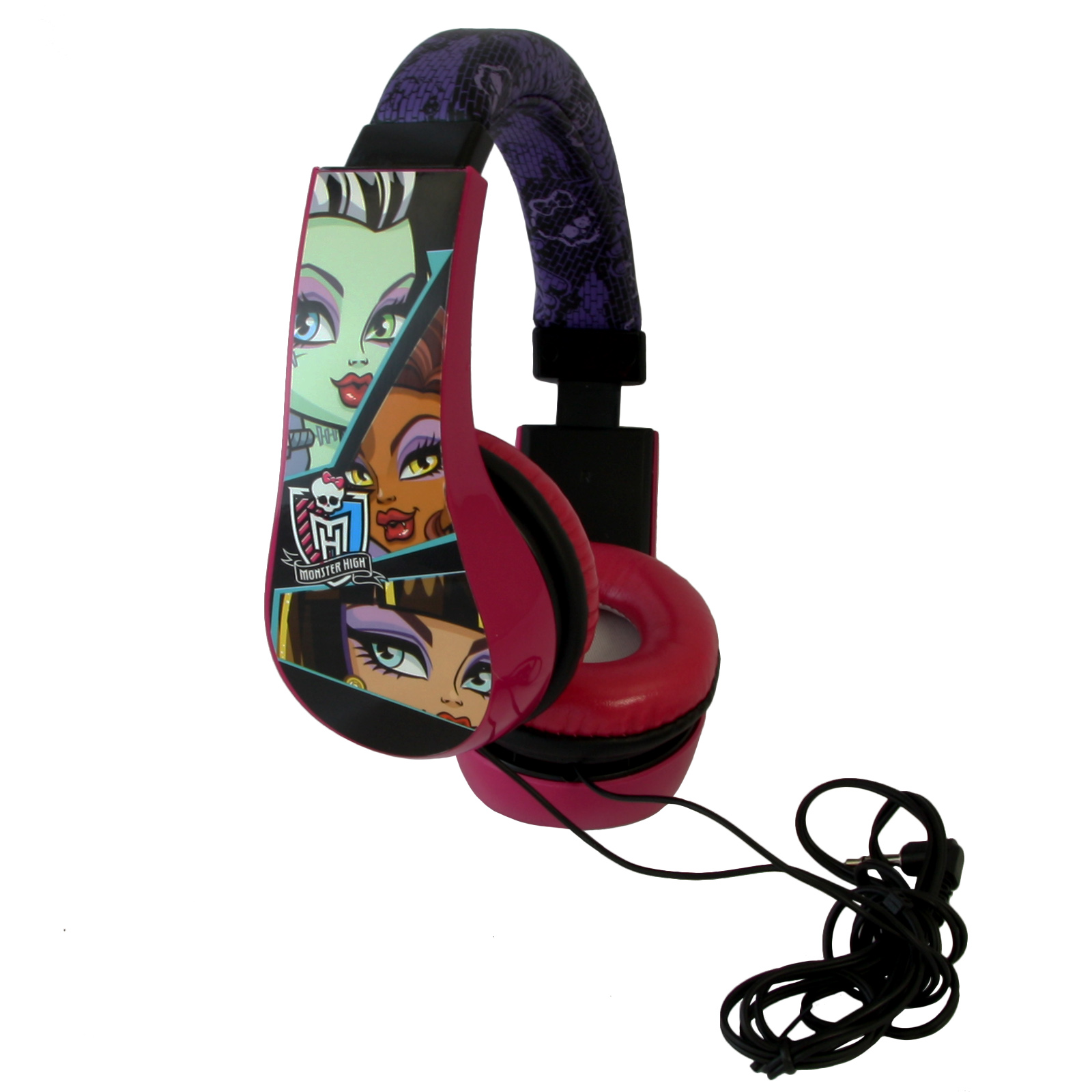 Monster High Kids Friendly Cushioned Headphones by Monster High