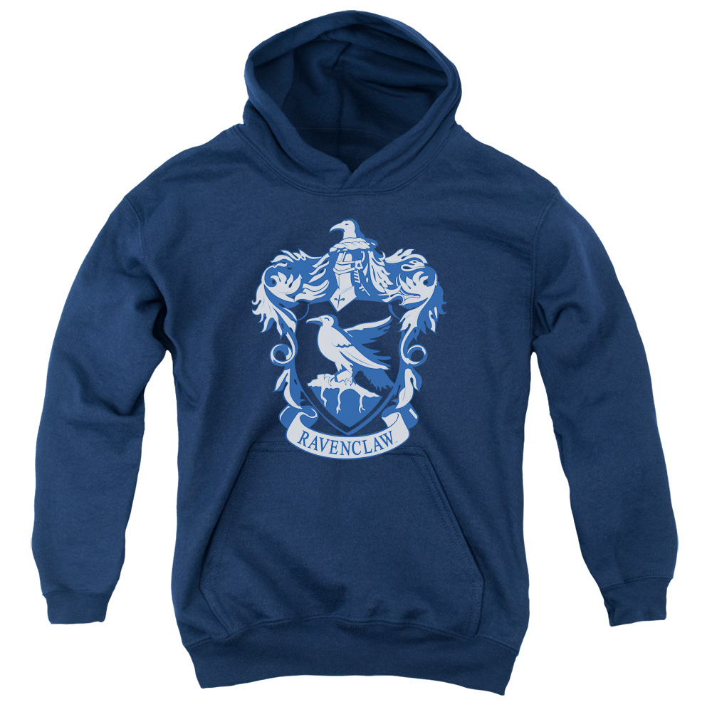 Harry Potter Ravenclaw Crest Big Boys Youth Pullover Hoodie