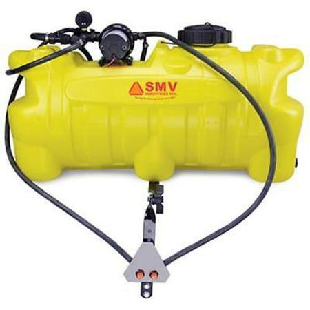 25 Gallon Capacity ATV Sprayer 4.0 GPM Pump 2 Nozzle Boomless Deluxe