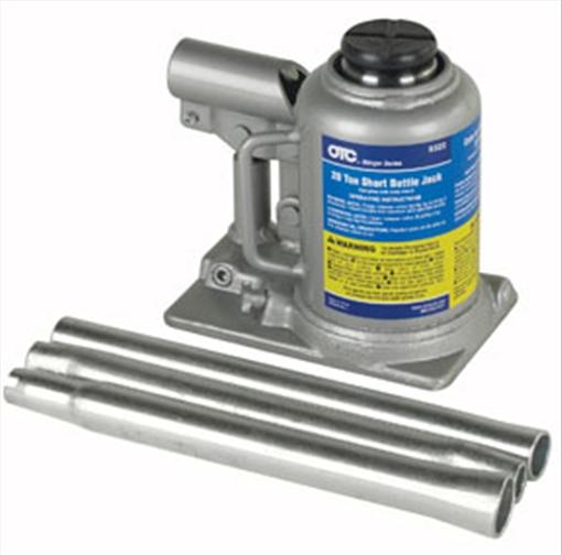 OTC Tools & Equipment 9322 Short Bottle Jack, 20-Ton