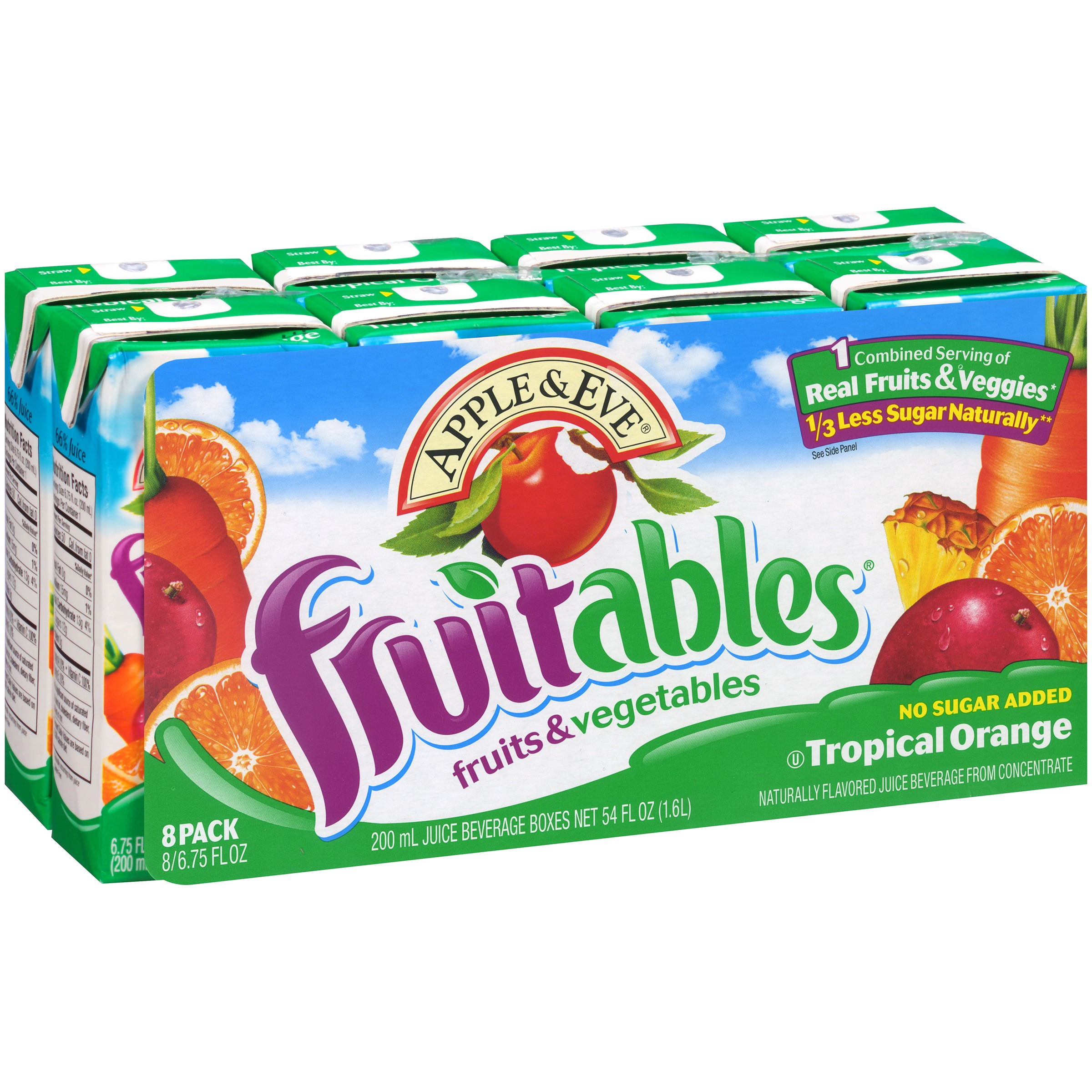 Apple & Eve® Fruitables® Fruits & Vegetables Tropical Ora...
