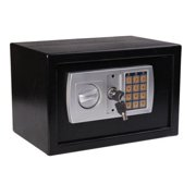 HomCom 12 x 8 x 8 in. Steel Electronic Digital Home Security Safe