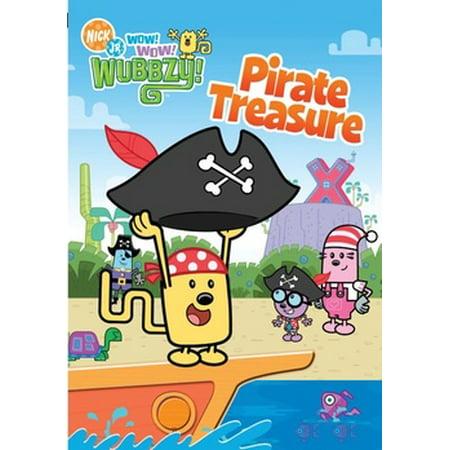 Wow Wow Wubbzy: Pirate Treasure (DVD) - Halloween Songs Wubbzy