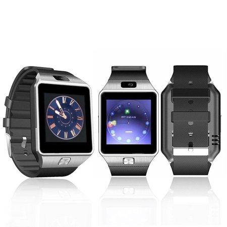 Amazingforless (V-200) Silver Bluetooth Smart Wrist Watch Phone mate for Android Samsung HTC LG Touch Screen with
