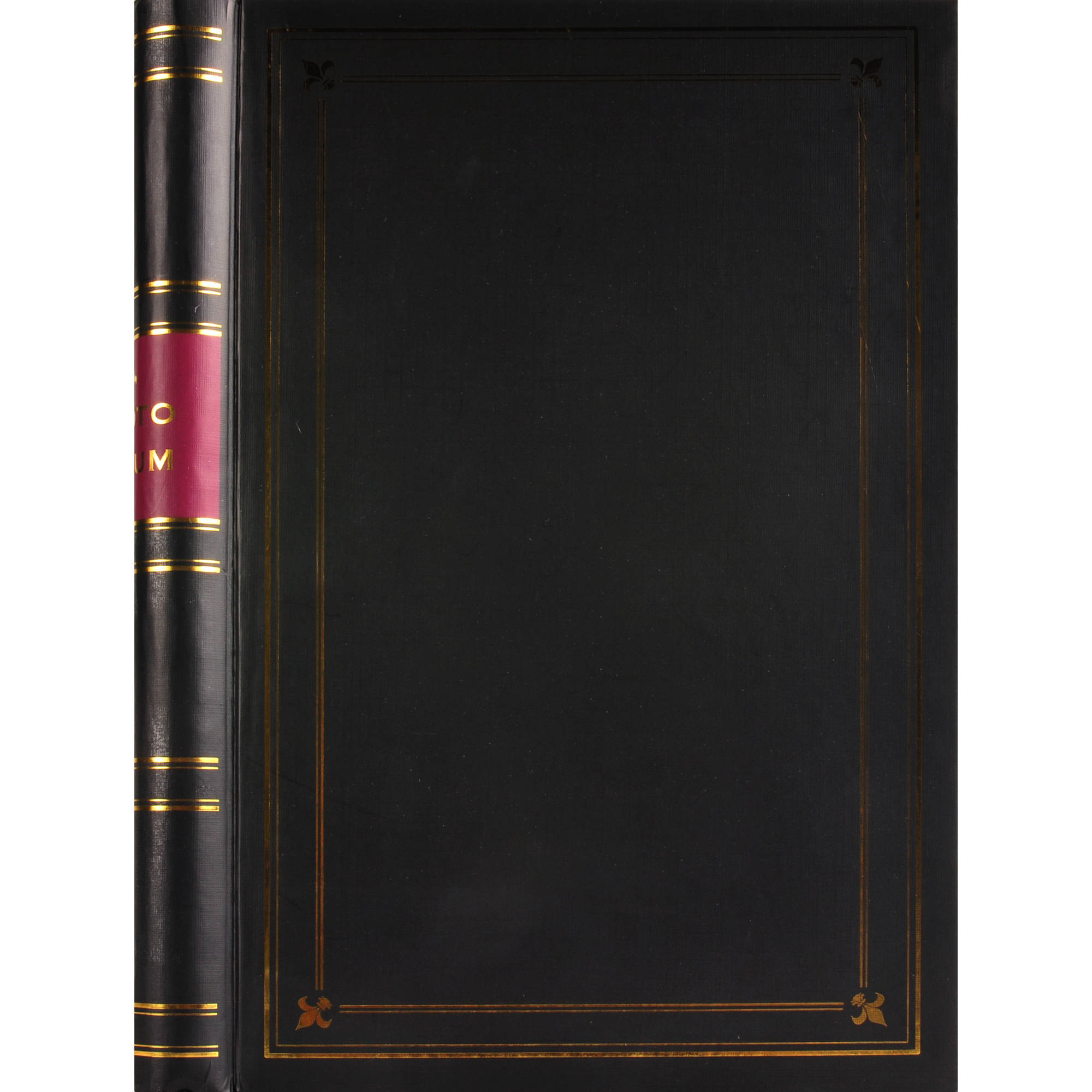Pinnacle Frames and Accents 3Up Spiral Black Photo Album