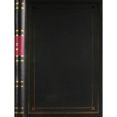 Pinnacle Classical Spiral Bound Photo Album with Gold Trim, Holds 300 - 4