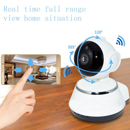 720P HD Security Cameras Home Video Security Camera System Day Night View Cameras CCTV IP Surveillance Kit Wireless Pan Tilt WIFI  - image 4 of 17