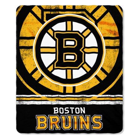 Boston Bruins Fade Away Fleece Throw