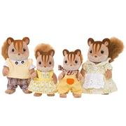 Famille Chipmunk aux noisettes