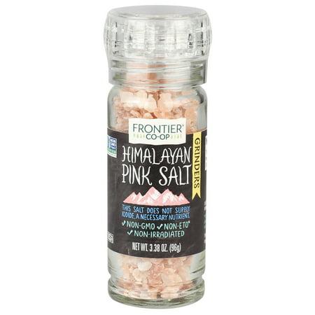 Frontier Co-op Himalayan Pink Salt Grinder 3.38 oz.