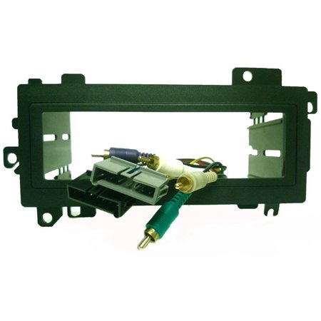 Replace an Infinity factory Radio - Dash kit and wire harness for installing a new Single Din Radio into a Dodge Avenger 1995-2000 By Carxtc Ship from US ()
