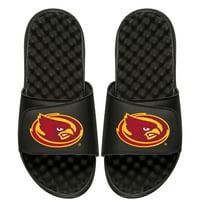 Iowa State Cyclones ISlide Youth Mascot Slide Sandals - Black