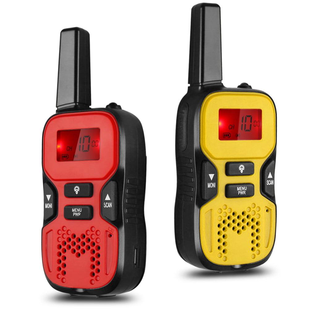 Kids Handheld Walkie Talkie - 22 Channel GMRS/PMR/FRS 2 Way Radio Transceiver...