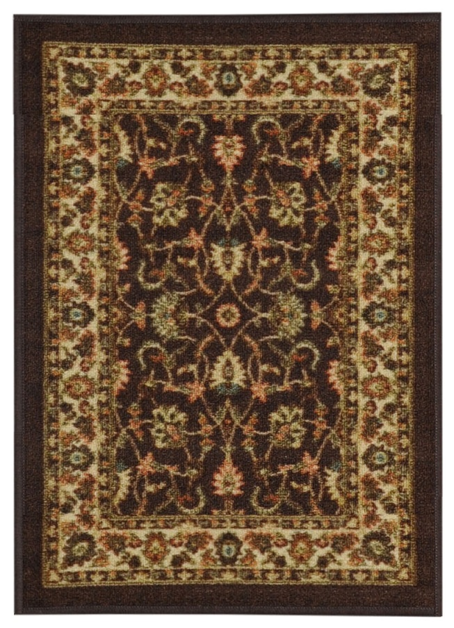 Maxy Home Hamam Collection HA-5088 (Non-Skid) Rubber Back Doormat 18-inch-by-31-inch 1'x2' by Rugnur