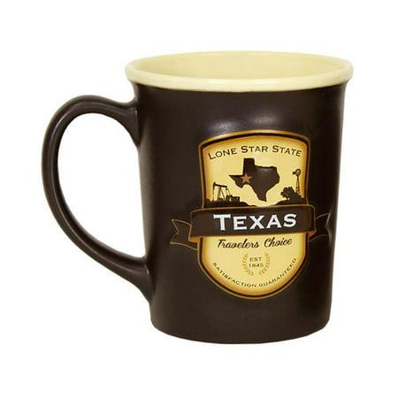 Americaware SEMTXS01 Texas Emblem Mug