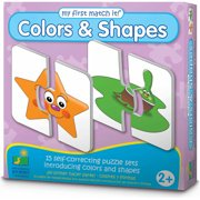 The Learning Journey My First Match It Colors and Shapes