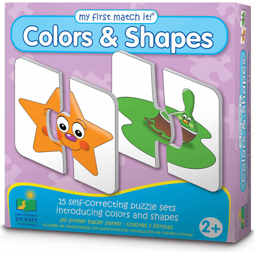 The Learning Journey My First Match It! Colors and Shapes