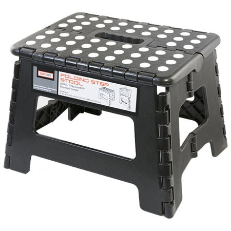 Stout Stuff Folding Step Stool Walmart Com