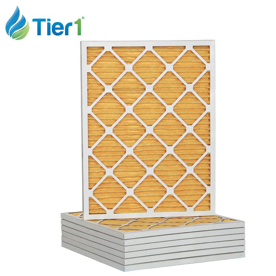 Tier1 Replacement for 16x25x4 Merv 11 Ultra Allergen AC Furnace Air Filter 6 Pack