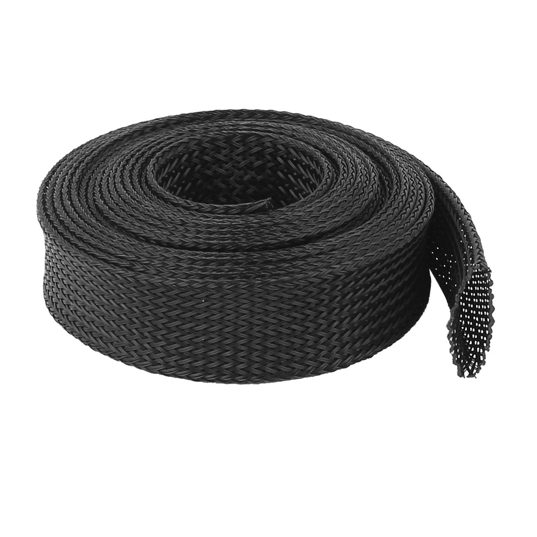 25mm PET Cable Wire Wrap Expandable Braided Sleeving 3 Meter