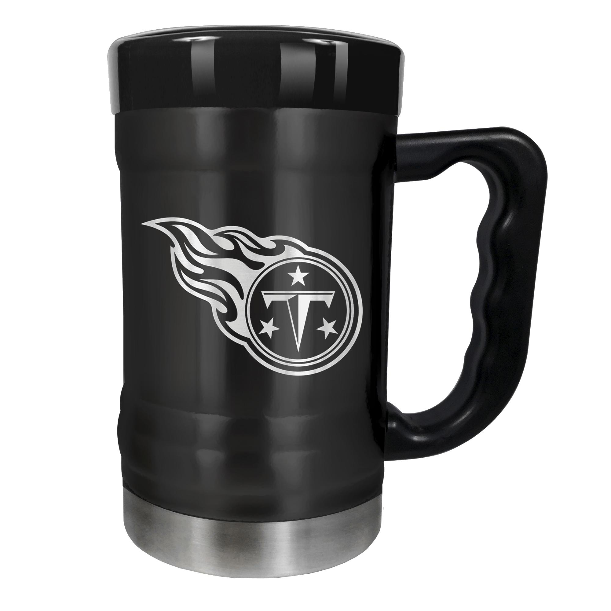 Tennessee Titans 15oz. Stealth Coach Coffee Mug - Black - No Size