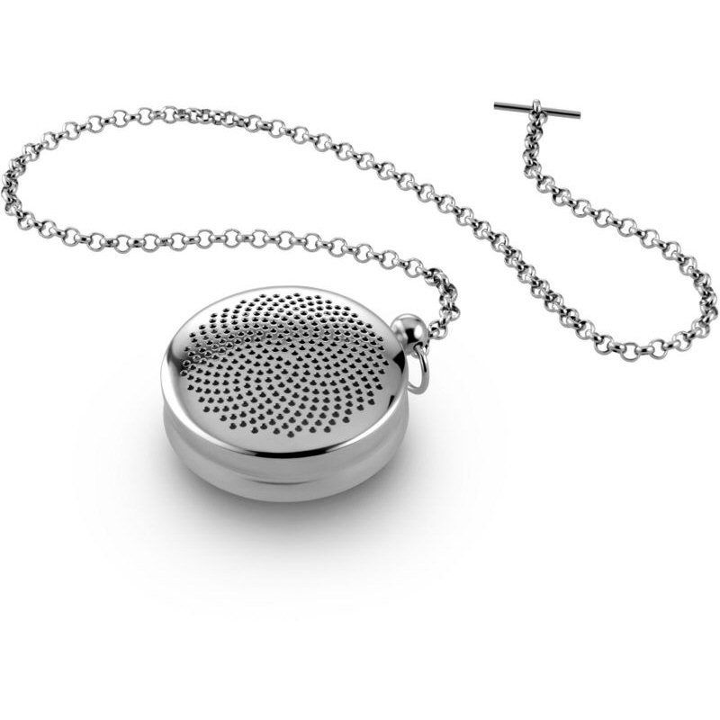 """Alessi """"T-Timepiece"""" Stainless Steel Tea Ball - Infuser /..."""