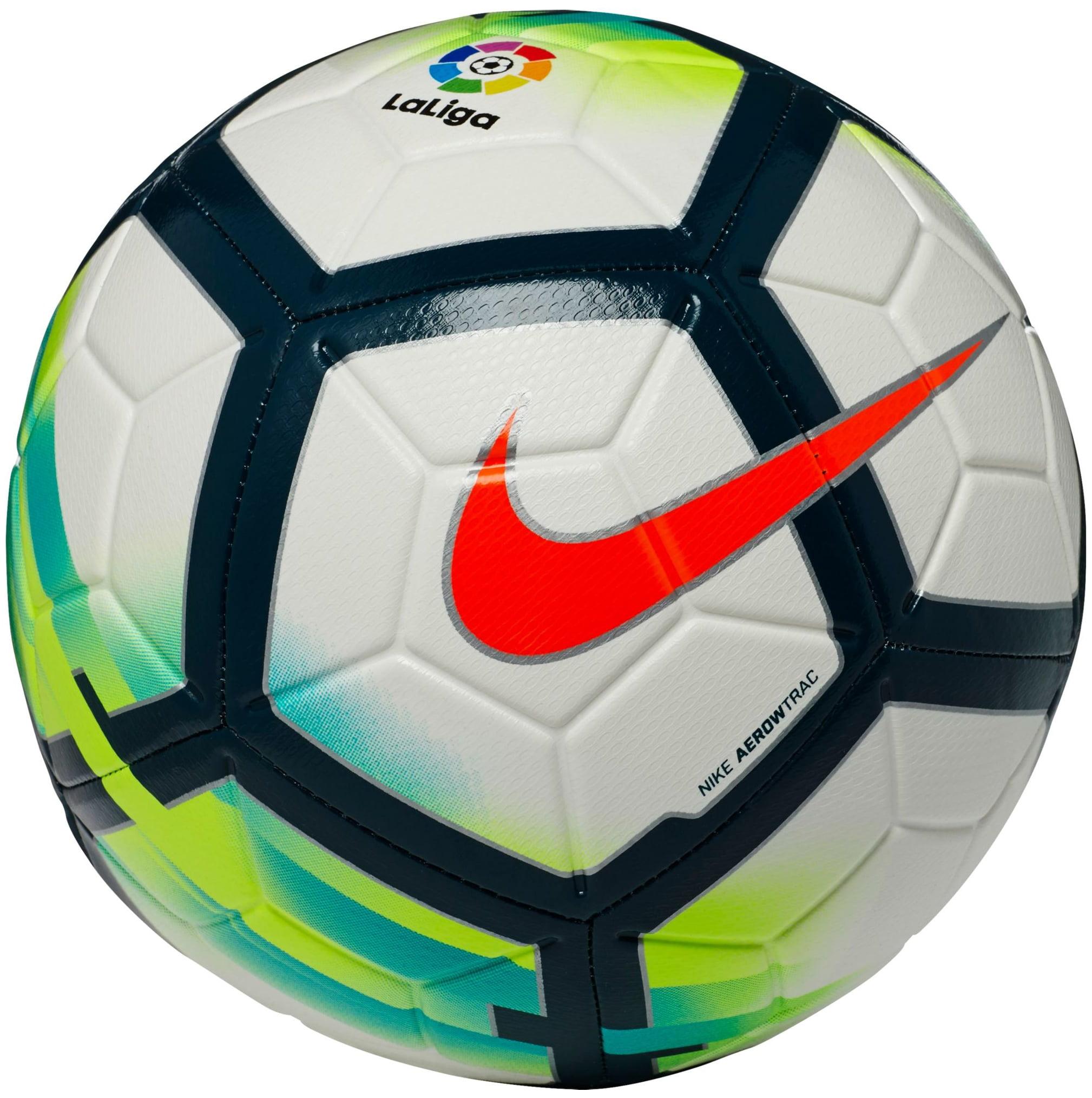 Nike Strike La Liga Soccer Ball (White/Blue/Green, 5)