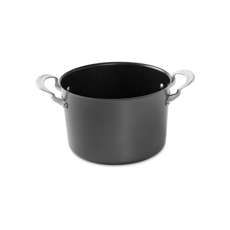 "Nordic Ware 8 Qt Stock Pot , Aluminized Steel with Cast Aluminum Handles, 5 Year Warranty, 9.75"" X 9.75"" X 6.50"""