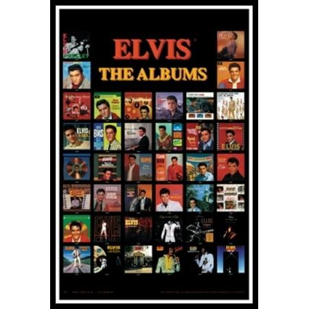 Elvis Presley - Albums Poster Poster Print](Elvis Shades)