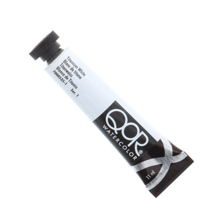 QoR Watercolor, 11ml Tube, Titanium White