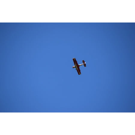 Canvas Print Sky Airplane Evolution Stunt Plane Acrobatic Plane Stretched Canvas 10 x 14