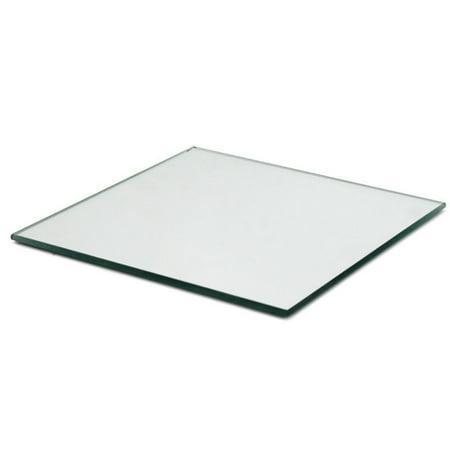 4 inch Glass Craft Square Mirror Bulk 100 Pieces Mirror Mosaic Tiles (Mosaic Pieces)