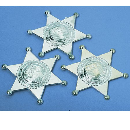 Sherriff Badge (Plastic Sheriff Badges)