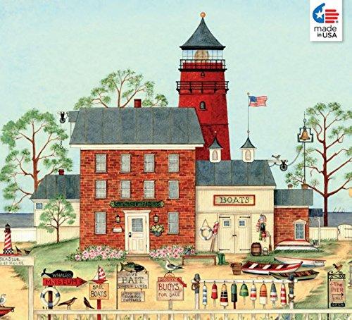 Ellen Stouffer The Lighthouse Jigsaw Puzzle, 550 Piece Pu...