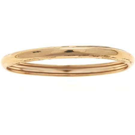 10kt Solid Yellow Gold Thumb Ring In a Plain Finish Design (Gold Thumb Ring Ring)
