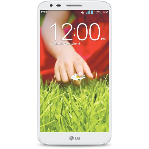 Refurbished LG G2 32GB White 32GB (AT&T) Smartphone