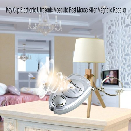 Key Clip Electronic Ultrasonic Mosquito Pest Mouse Killer Magnetic Repeller - image 4 of 6
