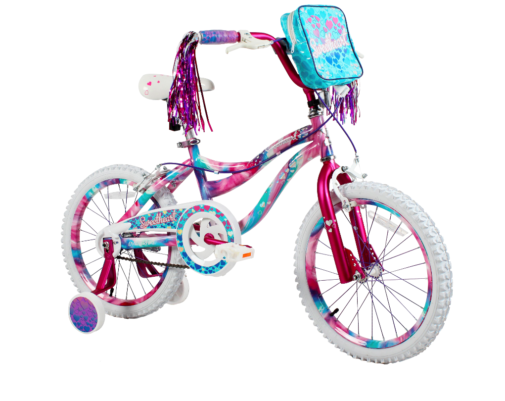 "Click here to buy Dynacraft 18"" Girls Sweetheart Bike by Dynacraft BSC."