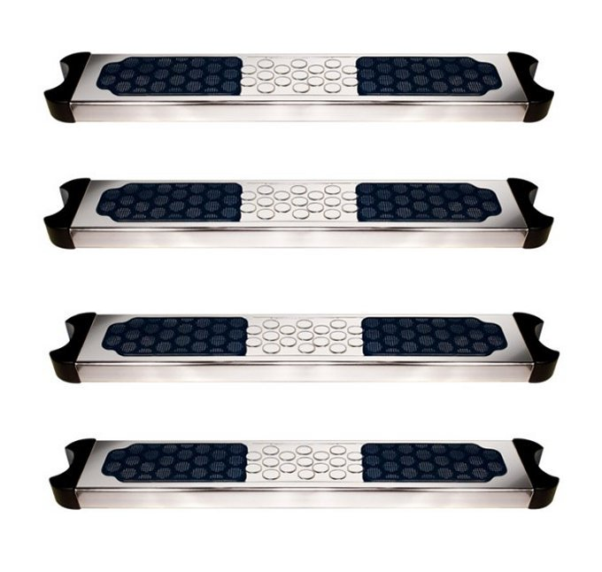4 Hydrotools 87906 Swimming Pool Stainless Steel Replacement Ladder Rung Steps