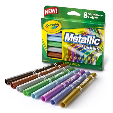 Crayola Metallic Markers - Crayola Metallic Markers
