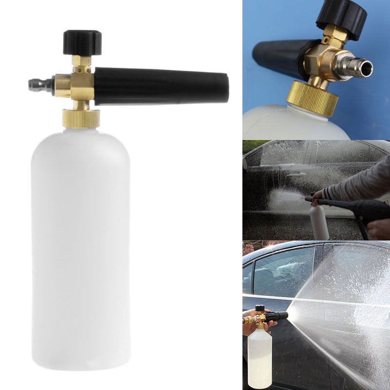 """High Pressure Foam Bottle Cannon Jet 1 4"""" Foam Lance For Car Washer Cleaning Machine by"""